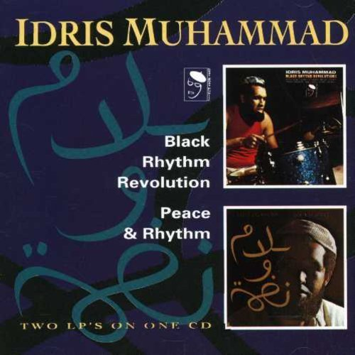 Idris Muhammad Black Rhythm Revolution Peace Import Gbr 2 On 1