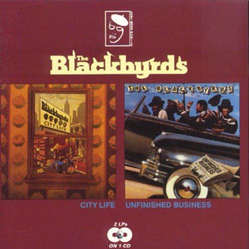 Blackbyrds City Life Unfinished Business Import Gbr 2 On 1