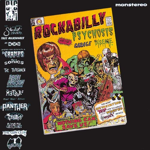 Rockabilly Psychosis & The Gar Rockabilly Psychosis & The Gar Import Gbr Trashmen Wray Sting Rays