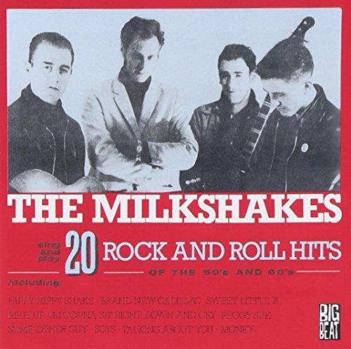 Milkshakes 20 Rock & Roll Hits Of The 50s Import Gbr