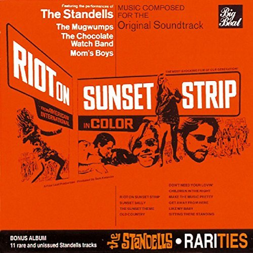 Standells Riot On Sunset Strip Rarities Import Gbr 2 On 1