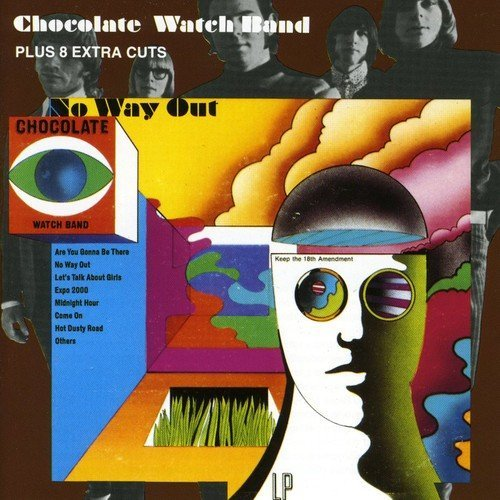 Chocolate Watch Band No Way Out Import Gbr
