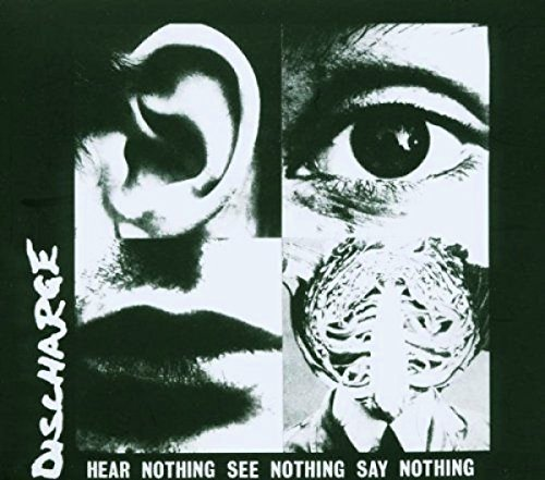 Discharge Hear Nothing See Nothing Import Gbr Incl. Bonus Tracks