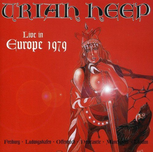 Uriah Heep Live In Europe Import Gbr 2 CD Set