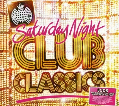 Ministry Of Sound Saturday Night Club Classics Import Gbr 3cd Set