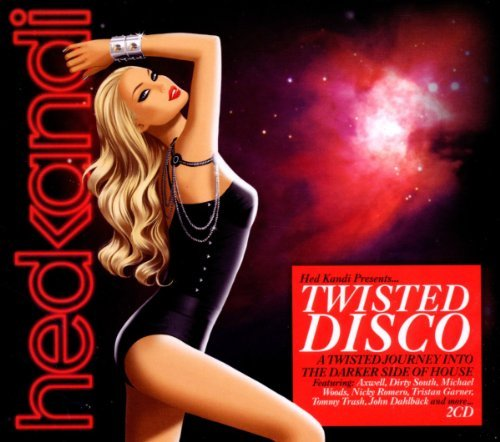 Hed Kandi Twisted Disco 12 Import Gbr 2 CD