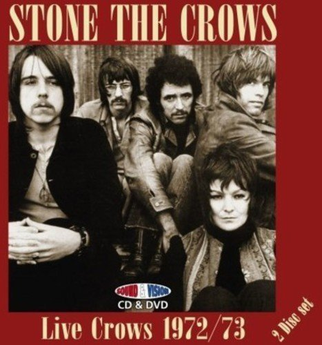 Stone The Crows Live Crows 1972 73 Incl. Bonus DVD