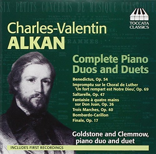 C. Alkan Comp Piano Duos & Duets Goldstone & Clemmow (pno)
