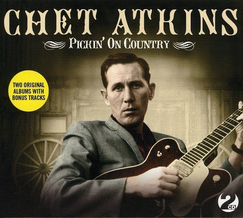 Chet Atkins Pickin' On Country Import Gbr 2 CD Set