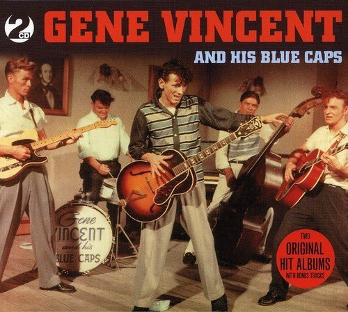Gene Vincent And His Blue Caps Import Gbr 2 CD Set