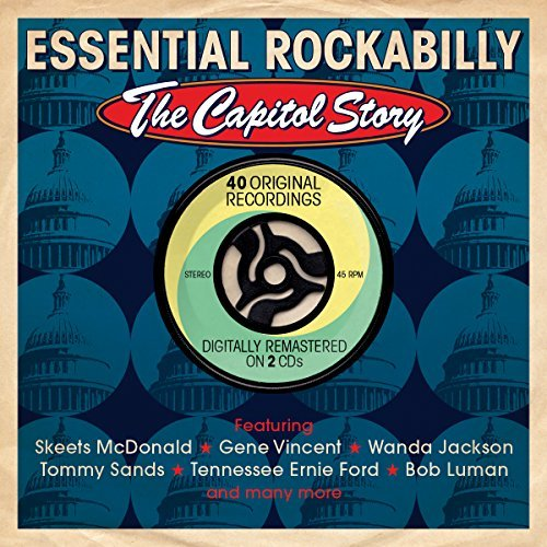Essential Rockabilly The Capit Essential Rockabilly The Capit Import Gbr 2 CD