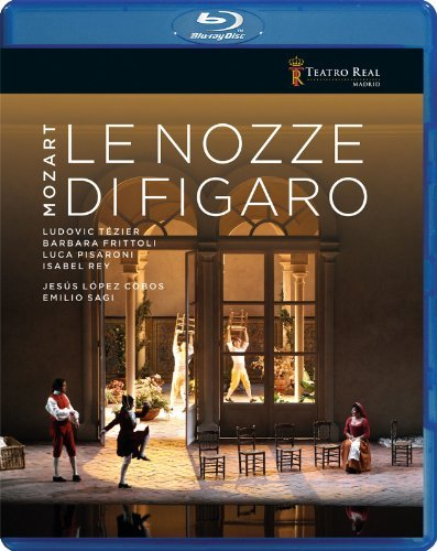 Wolfgang Amadeus Mozart Le Nozze Di Figaro Blu Ray Chorus & Orchestra Of The Teat