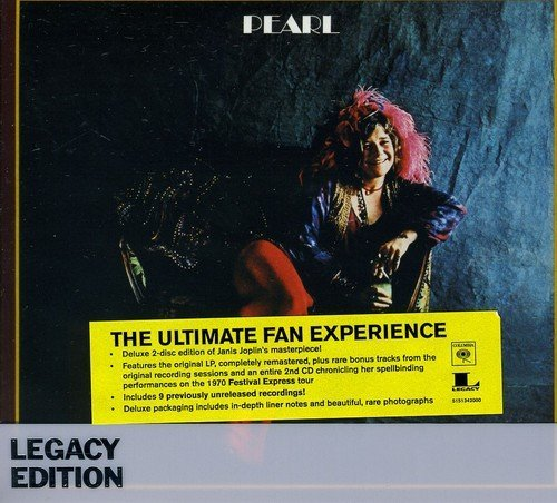Janis Joplin Pearl (legacy Edition) Import Eu 2 CD