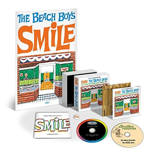 Beach Boys Smile Sessions Deluxe Edition Bonus Tracks 2 CD Lift Top Box