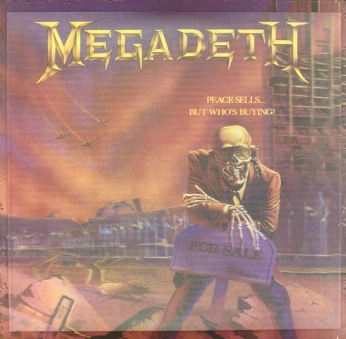 Megadeth Peace Sells... But Who's Buyin Deluxe Ed. 5 CD 3 Lp 2 Photos