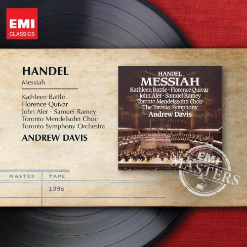 George Frideric Handel Messiah 2 CD Davis*andrew