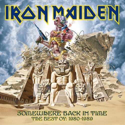 Iron Maiden Somewhere Back In Time Import Eu