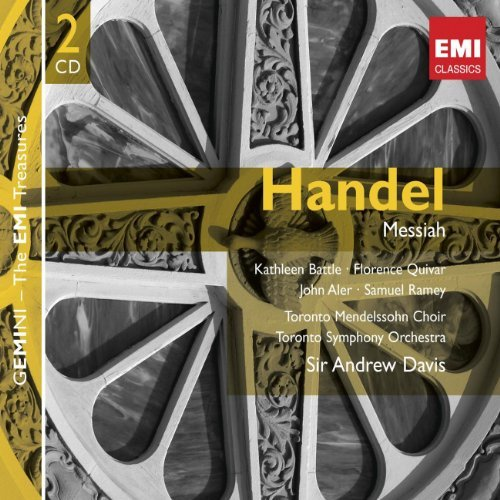 Sir Andrew Davis Handel Messiah