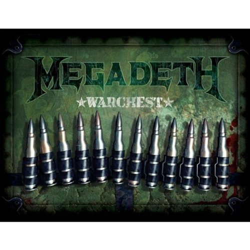 Megadeth Warchest Box Set 4 CD Incl. DVD