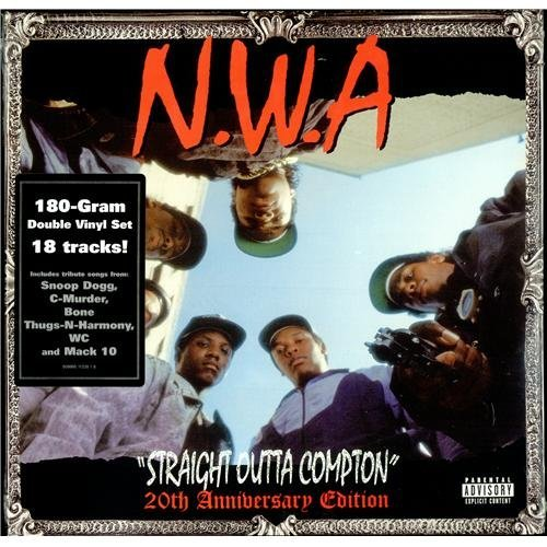 N.W.A. Straight Outta Compton 20th Edition Explicit Version