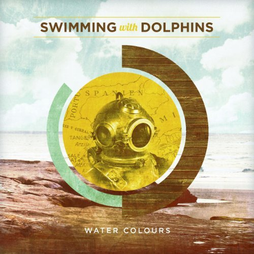 Swimming With Dolphins Water Colours