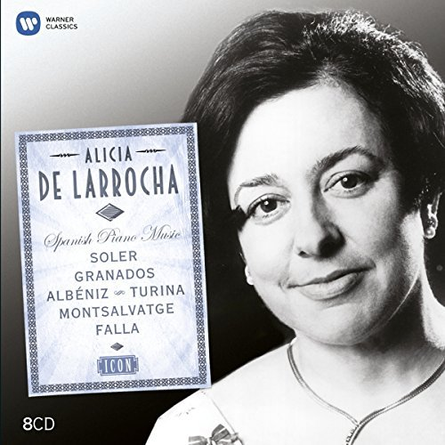 Alicia De Larrocha Icon Died In October 2009 8 CD