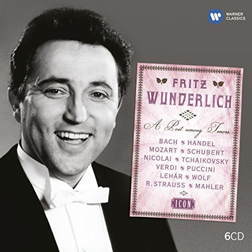 Fritz Wunderlich Icon 80th Anniversary Of Birth 6 CD