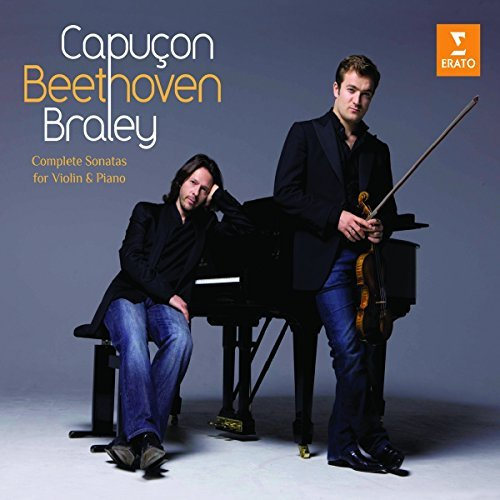 Renaud & Franck Braley Capucon Complete Sonatas For Violin & 3 CD