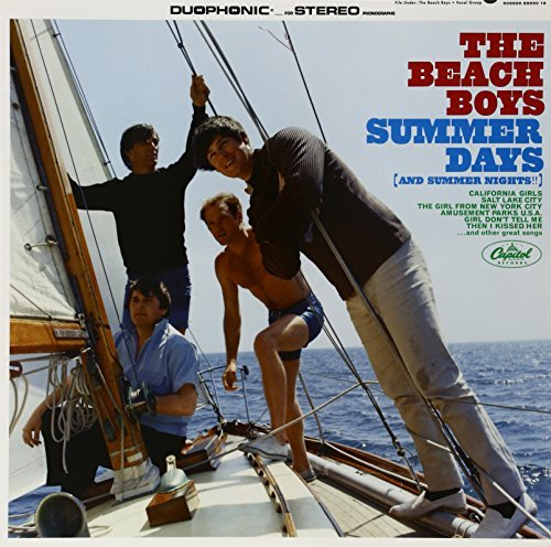 Beach Boys Summer Days (and Summer Nights 180gm Vinyl Printed Sleeves