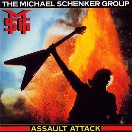 Michael Group Schenker Assault Attack Import Eu Remastered Extended