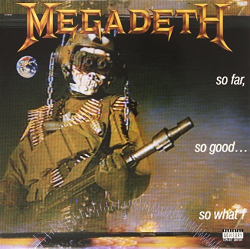 Megadeth So Far So Good So What 180gm Vinyl Lmtd Ed. Remastered