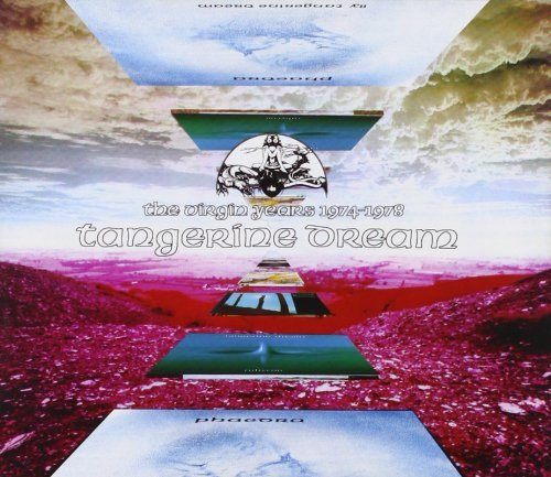 Tangerine Dream Virgin Years 1974 78 Import Eu 3 CD
