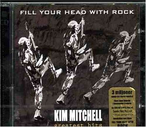 Mitchell Kim Fill Your Head With Rock Great Import Eu Incl. Bonus DVD