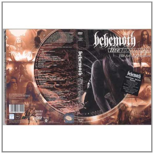 Behemoth Live Eschaton Art Of Rebelion Incl. CD