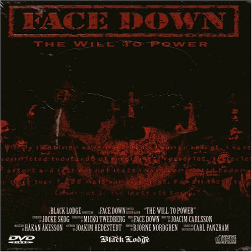Face Down Will To Power Incl. Bonus DVD