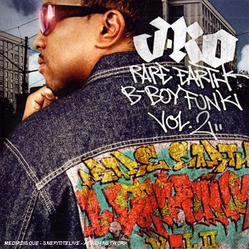 J Ro Rare Earth B Boy Funk Vol.2 Import Eu