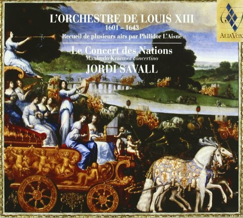 Jordi Savall Orchestra Of Louis Xiii Savall Concert Des Nations