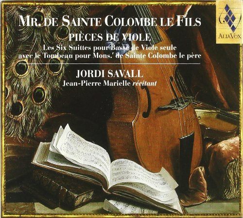 S. Colombe Pieces De Viole 6 Suites For S Savall*jordi (vl)