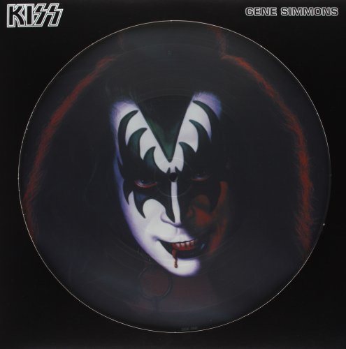 Kiss Gene Simmons Picture Disc