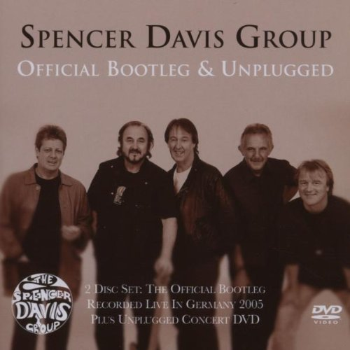 Spencer Davis Group Official Bootleg & Unplugged Inc Bonus DVD (pal Region 2)