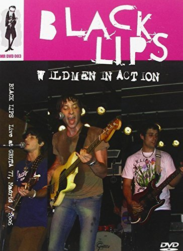 Black Lips Wildmen In Action Ntsc Pal (0)