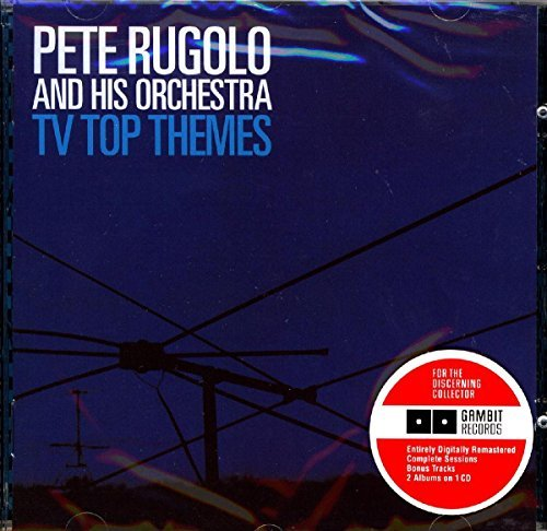Pete & His Orchestra Rugolo Tv Top Themes Behind Brigitte Import Esp