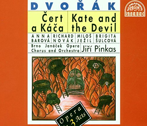 Brno Opera C&o Janacek Dvorak Kate & The Devil [opera 2 CD
