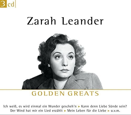 Zarah Leander Golden Greats Import Eu 3 CD Set