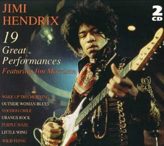 Hendrix Jimi 19 Great Performances