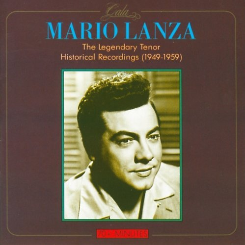 Mario Lanza Legendary Tenor 1949 59 Import Eu