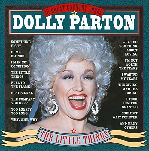 Dolly Parton Little Things 18 Great Songs Import Eu