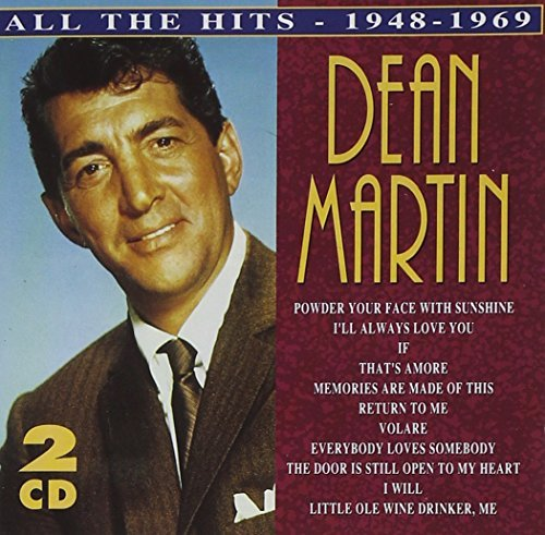 Dean Martin All The Hits 1946 69 Import Uk 2 CD Set