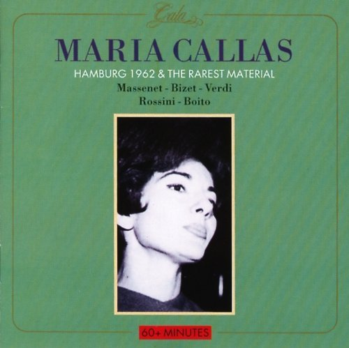 Maria Callas Hamburg 1962 Import Eu