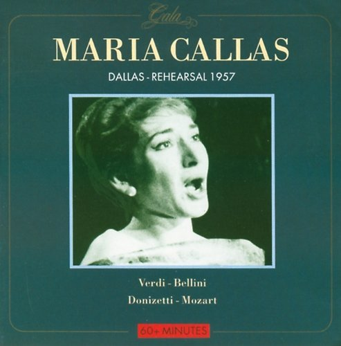 Maria Callas Dallas 1957 Import Eu